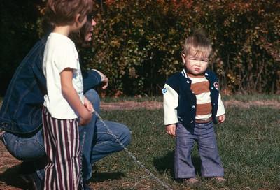 Carey Sue Turner, Bill Sell, Platte City, MO, November, 1973