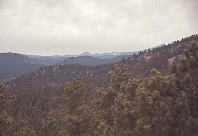 Colorado Rocky Mountain National Park.  August 17, 1963