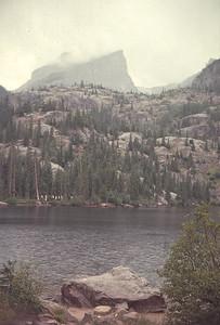 Bear Lake, Colorado Rocky Mountain National Park.  August 17, 1963