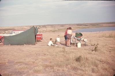 Logan County State Lake.  Kansas. August 12, 1963