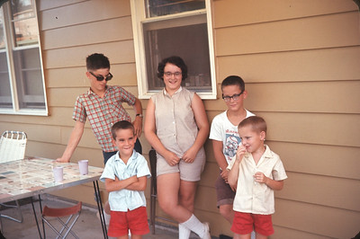 The Hicks Children.  July 1, 1963