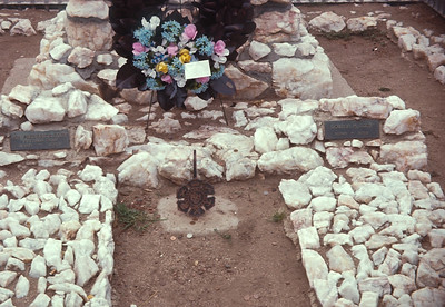 Buffalo Bill's Grave On Lookout Mountain.  Colorado.  August 16, 1963