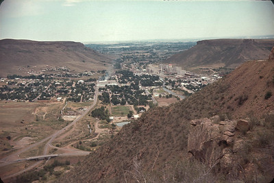 Golden Colorado.  Taken From Lookout Mountain.  August 16, 1963