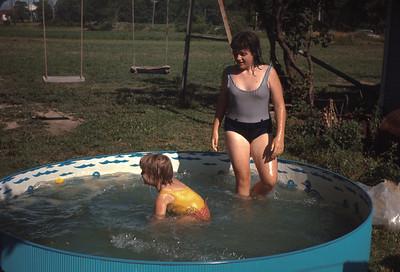 Theresa And Jan, Vacation, July 1967