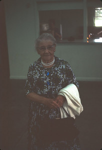 Aunt Emma At Masters Reunion, June 1967