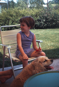 Theresa & Buffy, Platte City, MO,  June 1967