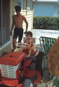 Wayne And Carey Sue, Platte City, MO, July 1967
