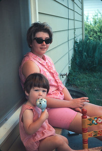Carey Sue And Chris,  Platte City, MO, June 1967