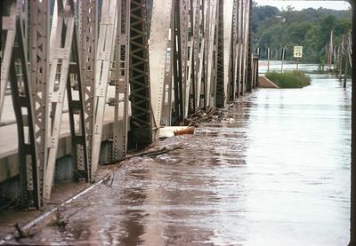 Platte River Flood, Platte City, MO, June 1974