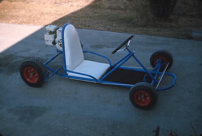 Wayne's Go-Kart, March 1966