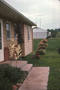 Home In Platte City, MO.  May, 1965