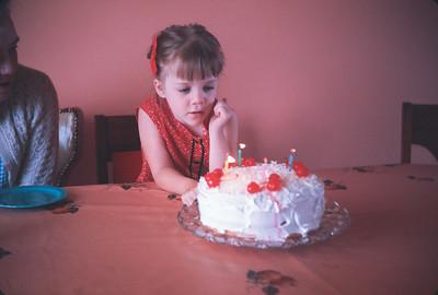 Theresa's Birthday. Platte City, MO.  May 19, 1965