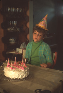 Theresa On Her 7th Birthday, Platte City, MO, May 19, 1968