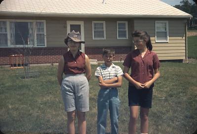 Unknown, Wayne, Chris in Platte City, MO.  June 17, 1961