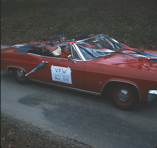 Homecoming Parade, Platte City, MO, October 1969