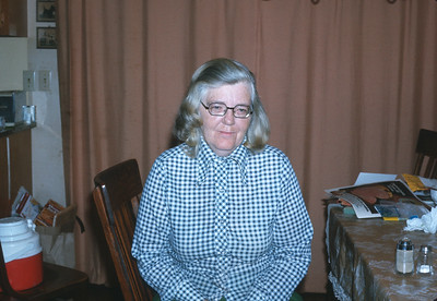 Dorothy Sell, Platte City, MO, Fall 1974