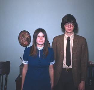 Wayne And Claudia Wedding Picture, Feburary 12, 1972