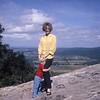 Georgia ... Laurie's afraid we're going fall down the mountain