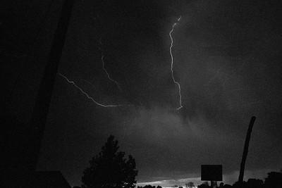 New Mexico Lightning Storm