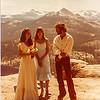 1981 Yosemite - our wedding on Washburn Point