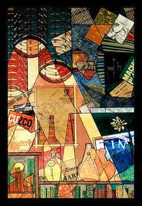 245 Bellavista - Collage by James Warfield - 1967