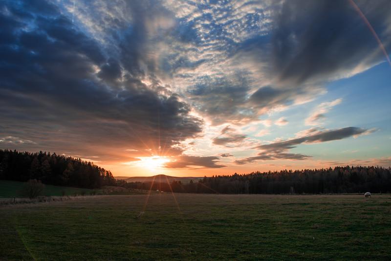 Východ / Sunrise