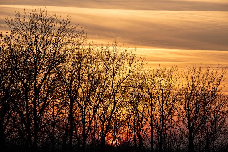 Těsně před západem / Right before sunset