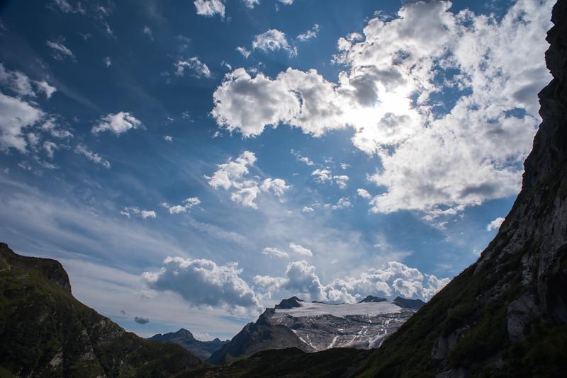 Ledovec Basodino / Basodino Glacier