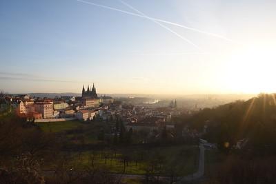 Svítání nad Prahou / Sunrise over Prague