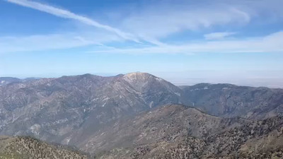 Mount Baldy 10,064 feet San Gabriel Mountains