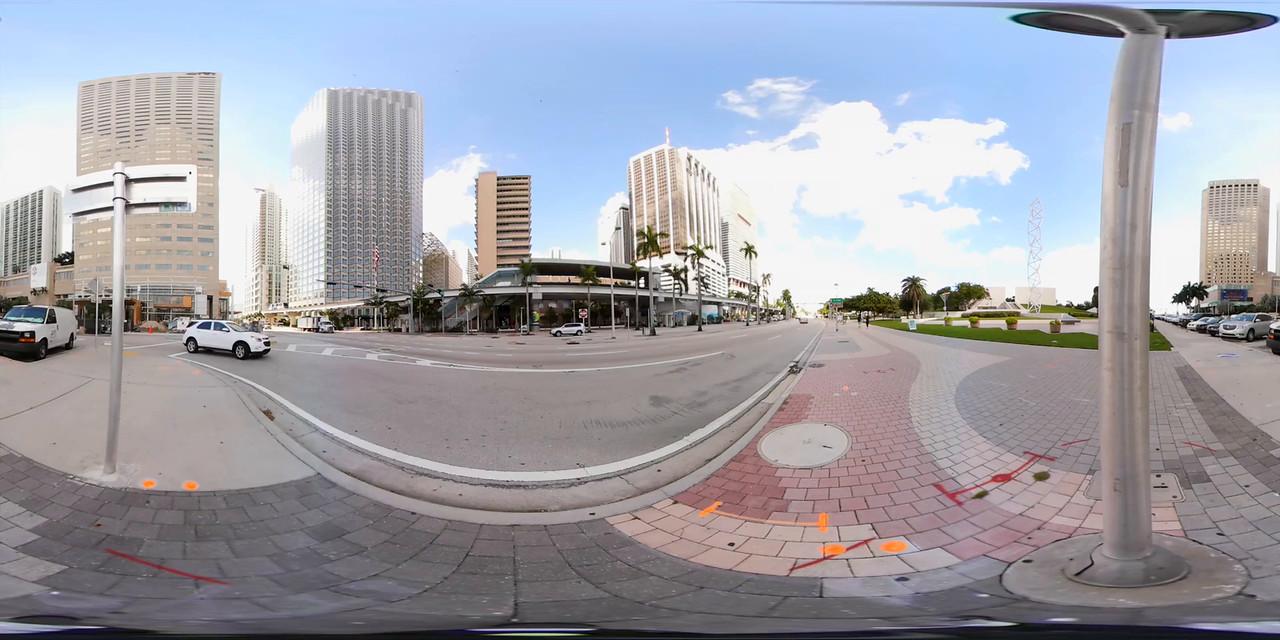 360vr Biscayne Boulevard Downtown Miami