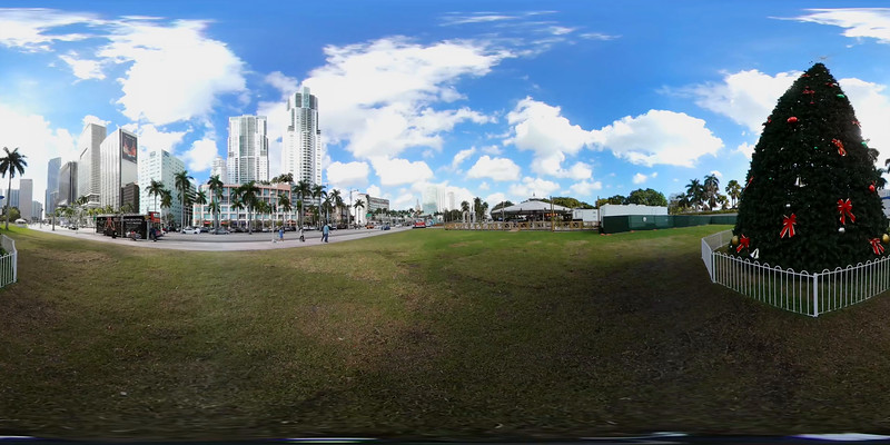 360vr Downtown Miami 4k