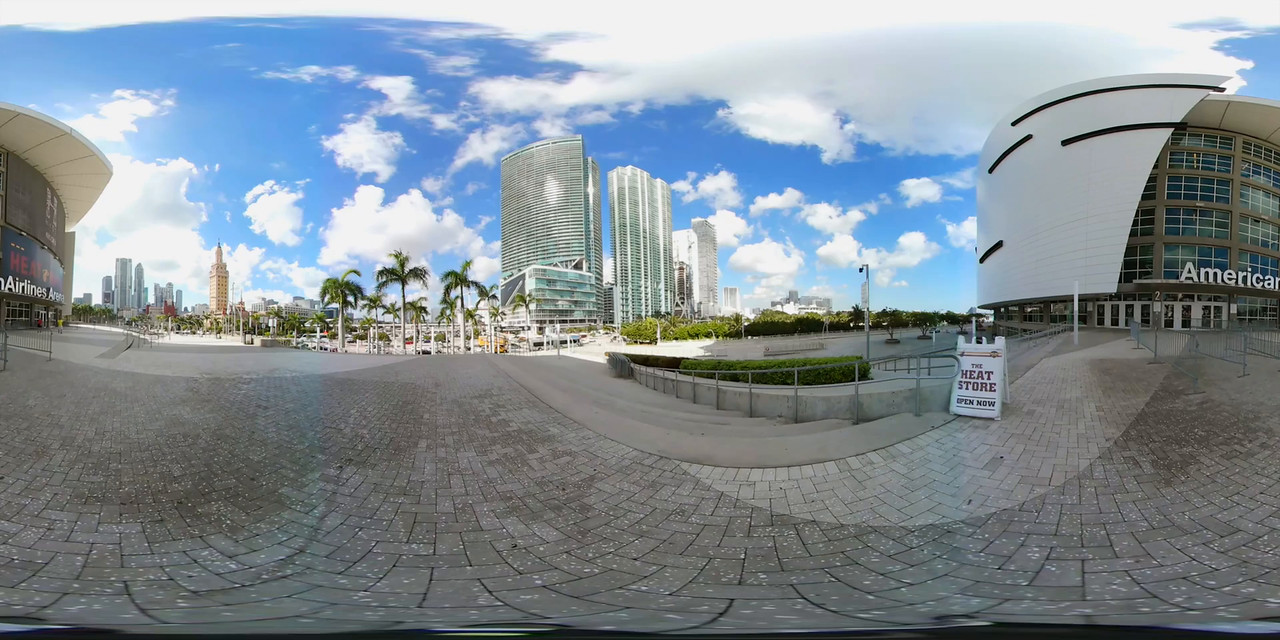 360vr American Airlines Arena 4k