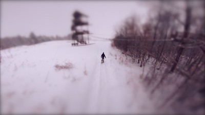 snow shoe deep track GJW by tower