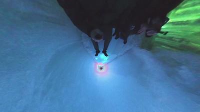 LED ice slide