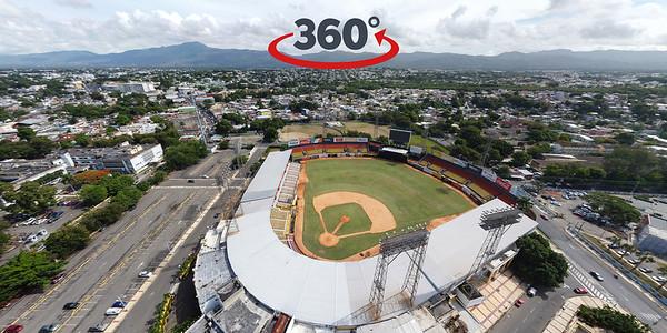 Estadio Cibao y Arena del Cibao, Santiago de los Caballeros. 24 de Julio, 2020.