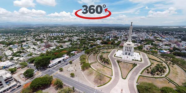Monumento a los Héroes de la Restauración, Santiago de los Caballeros. 22 de Julio, 2020.