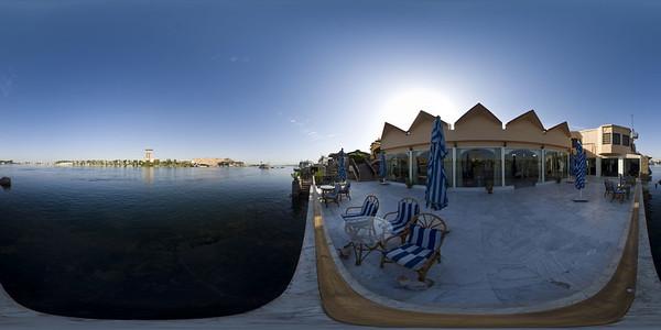 Aswan isis hotel terrace