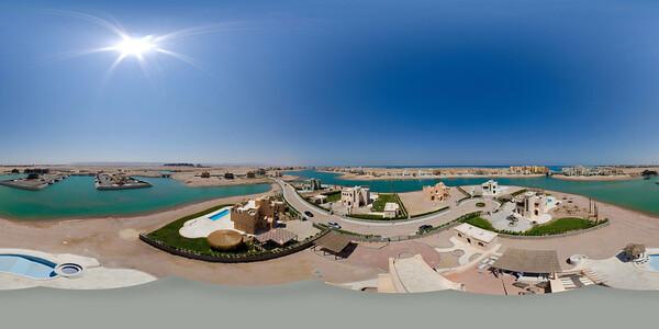Aerial view of El-Gouna-Egypt