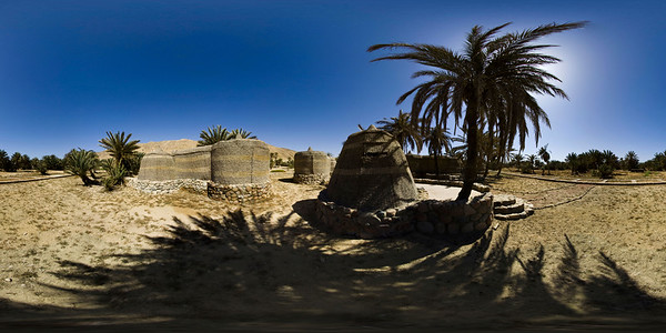 Moses Palms2 Panorama Sphere