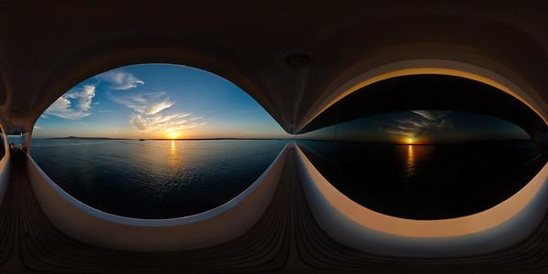 Sunset on Exoset