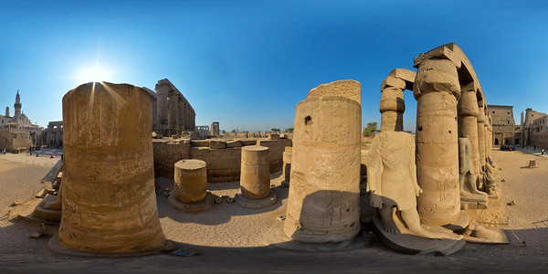 Luxor great court_
