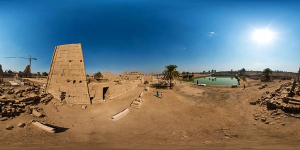 Karnak lake