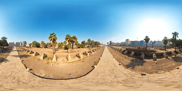 Avenue of the Sphynxes
