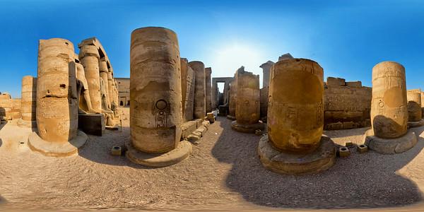 Luxor columns