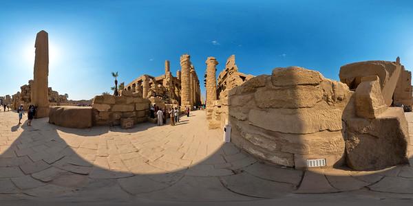 Karnak third pylon_