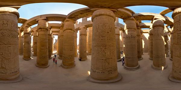 Karnak Hypostyle columns_