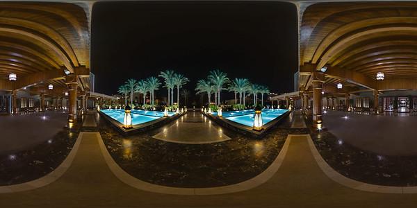 Pool at entrance