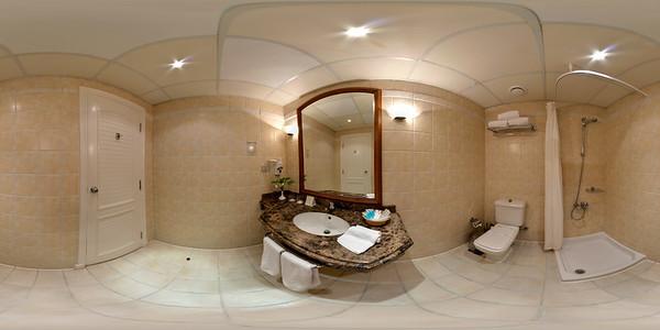 Deluxe Suite service bath
