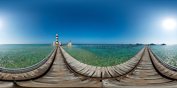 Daedalus lighthouse jetty